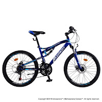 26 Inch Element Montreal Full Suspension 21 Speed Mountain Bike