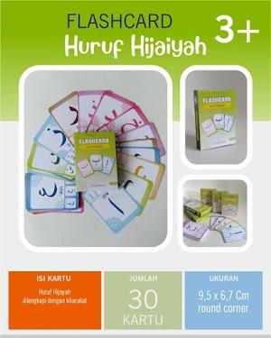 Flash Card Huruf Hijaiyah Metode Cepat Hafal