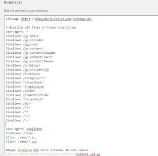 Tabel Daftar User-agent laba-laba mesin pencari