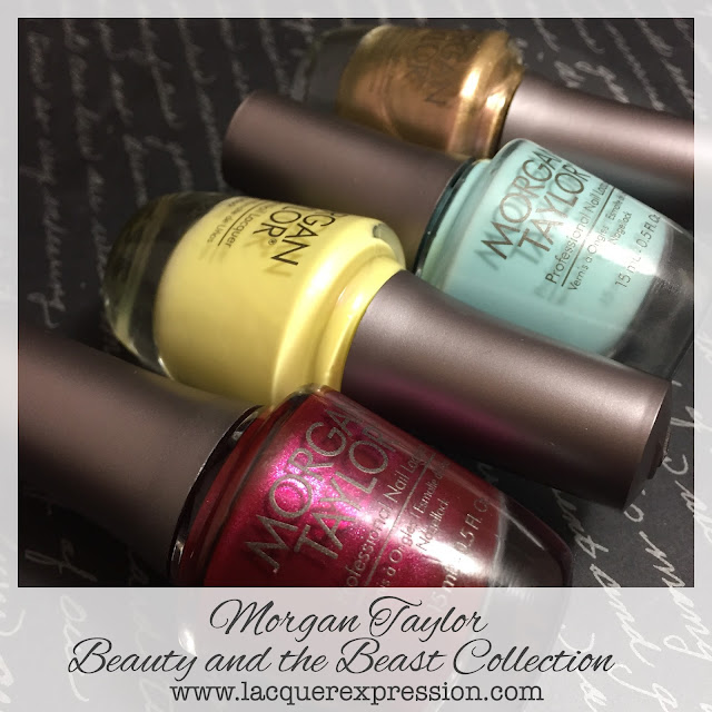 Mainstream Swatch and Review - Beauty and the Beast Nail Polish Collection from Morgan Taylor (Partial)