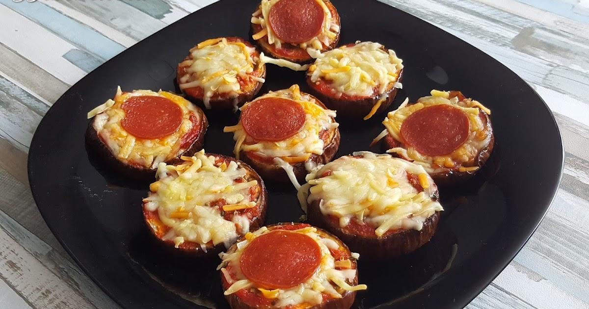 Recetas y a cocinar se ha dicho mini pizzas de berenjenas for Cocinar berenjenas facil