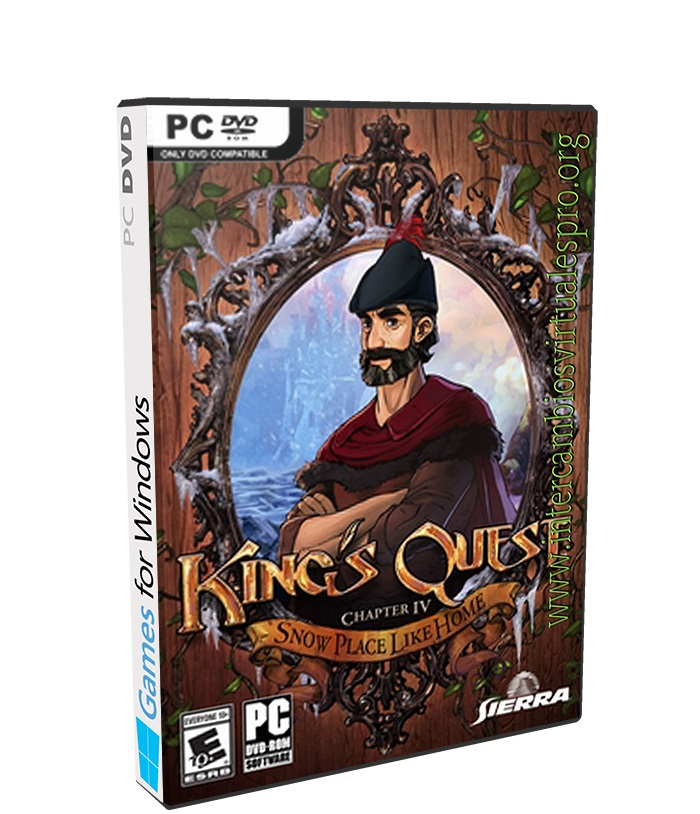 Kings Quest Chapter 4 poster box cover