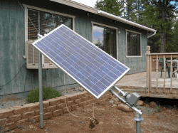 TIME OPERATED SOLAR TRACKING SYSTEM