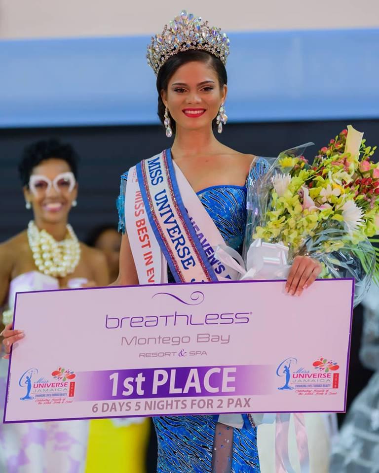 miss universe jamaica 2018 emily maddison