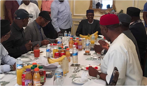 Buhari-APC-governors-in-london