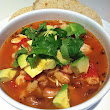 Pozole with Tomatoes and Rancho Gordo Beans