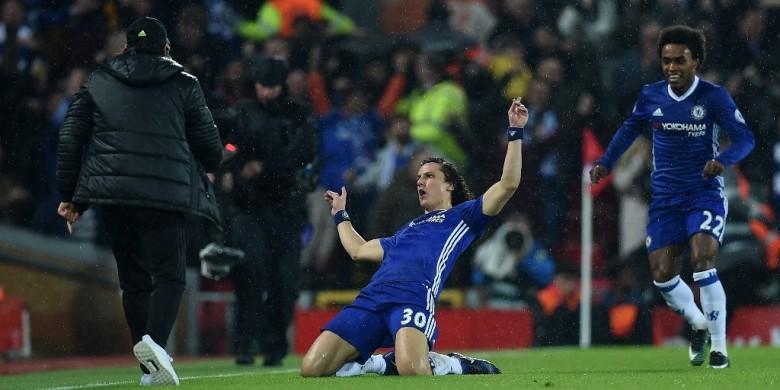 Cerita di Balik Gol David Luiz yang Membingungkan Mignolet
