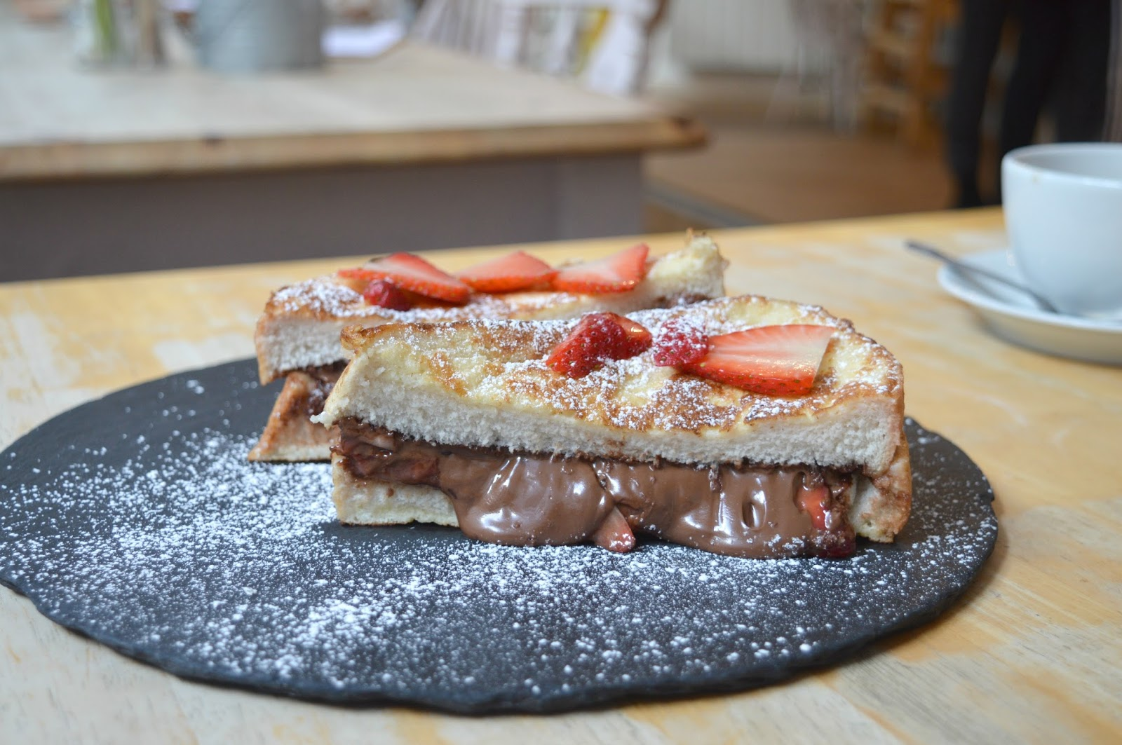 The Great British Cupcakery - French Toast and Nutella