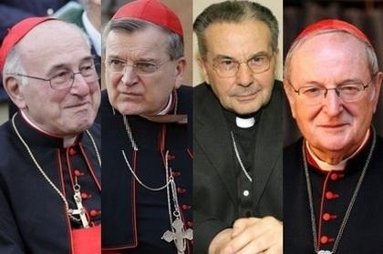 Resultado de imagem para Cardeais inimigos de Francisco