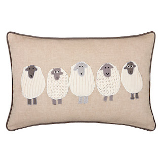 John Lewis Sheep Cushion