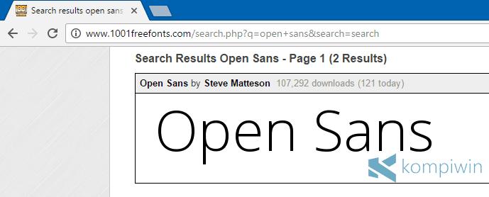 cara install font baru keren di komputer