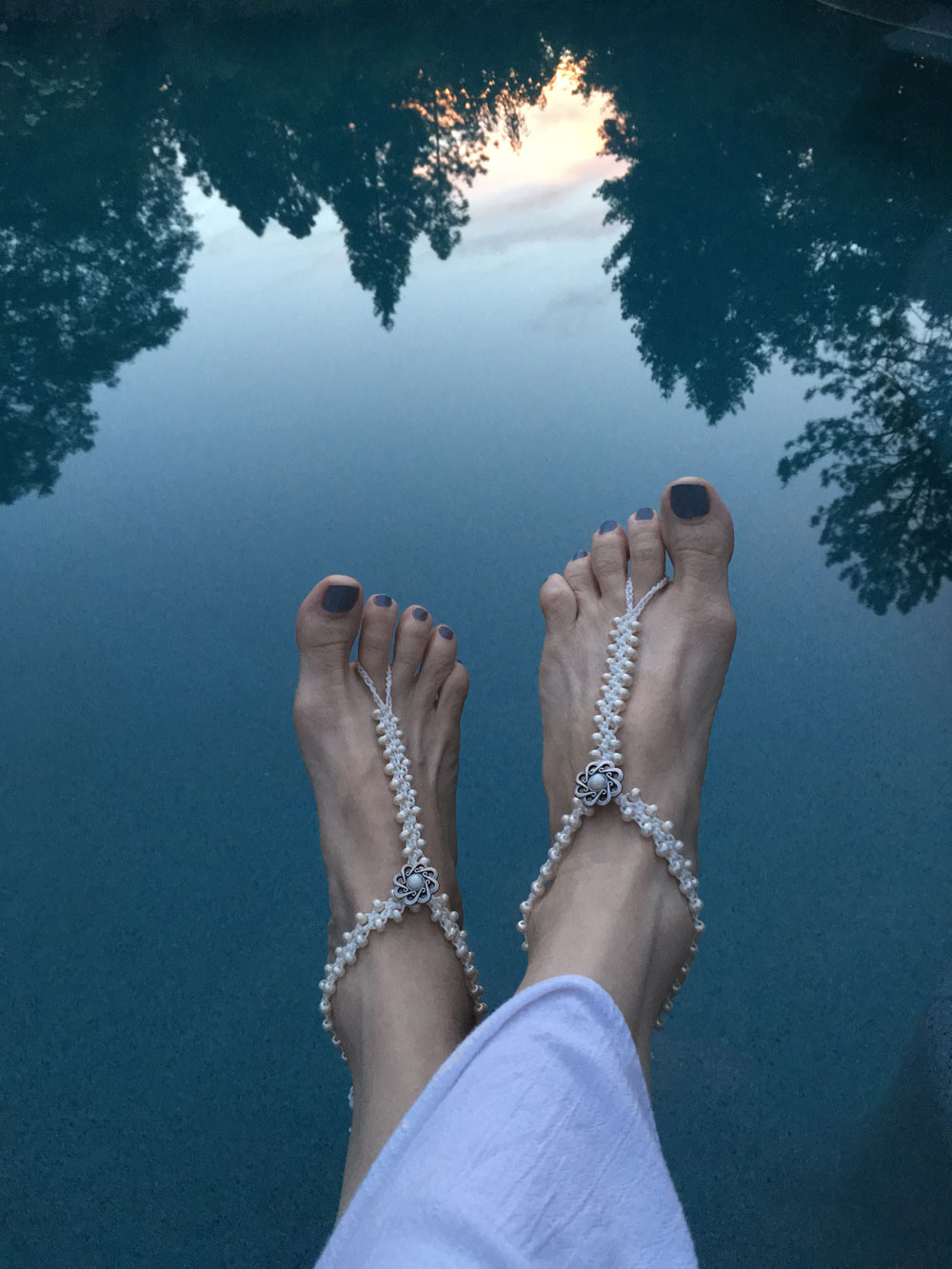 Marion Jewels In Fiber News And Such Barefoot Sandals Jewelry