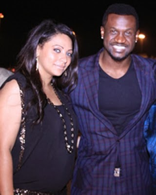 peter okoye lola omotayo wedding