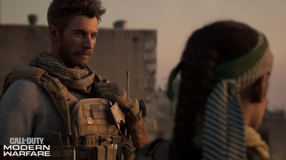 Call of Duty Modern Warfare, Character, 4K, #5.986