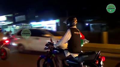 Heboh! Demi Untuk Kejar Waktu Isi Ceramah, Abdul Somad Naik RX King