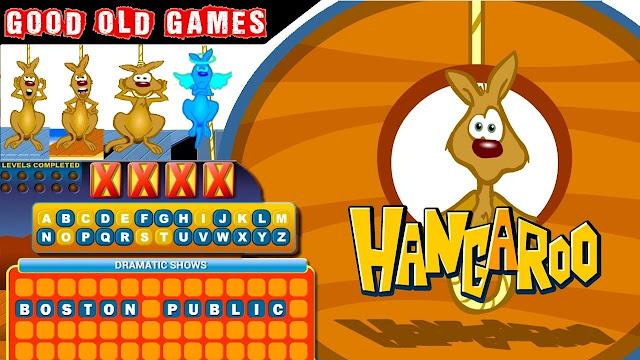 Game Kangguru Digantung