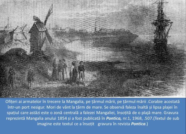 Gravura in revista Pontica. Mangalia