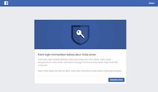 Tips Menghindari Checkpoint Pada Facebook - Jual Akun Facebook