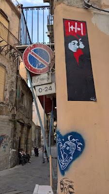 Palermo street art: 1 + 1 = 1