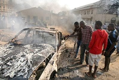 Church bombing in Nigeria, Christmas 2011