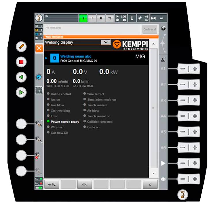 Программное обеспечение KUKA.ArcTech + программы и дополнительные функции Kemppi