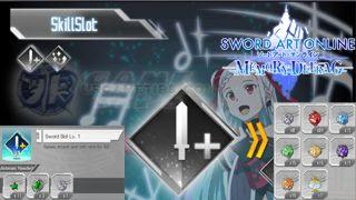 Sword Art Online: MD - Skill Slots Info and Stats Per Lvl