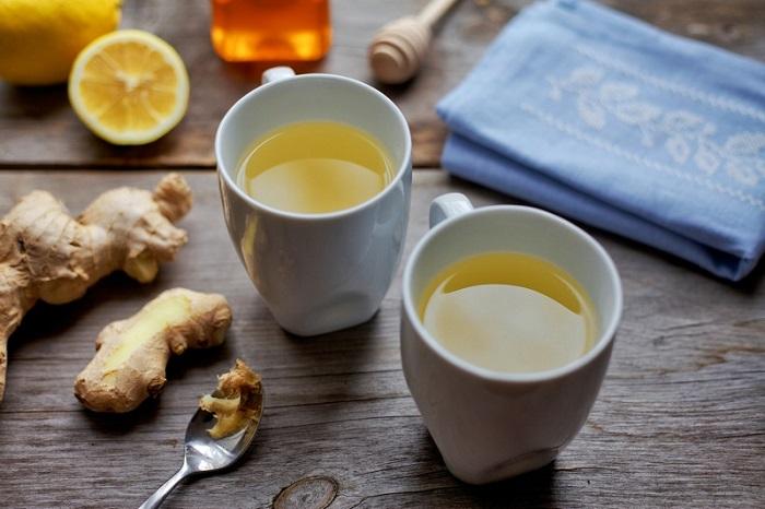 flat belly, flat tummy, ginger tea