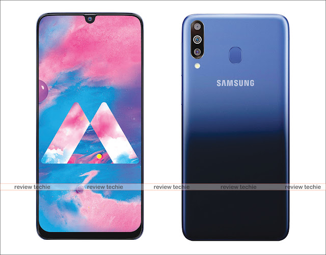 Samsung Galaxy M30 (Gradation Blue, 4+64 GB)