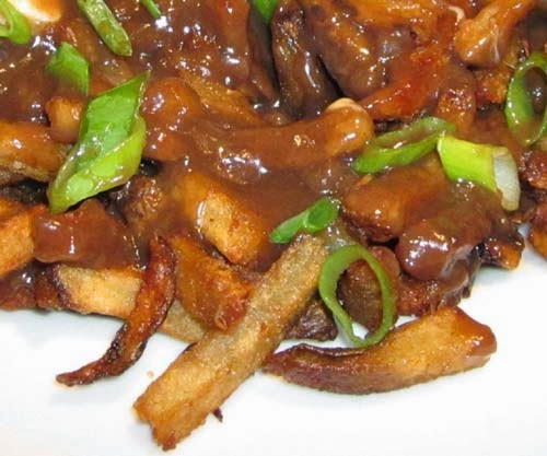 Brown Gravy over French Fries