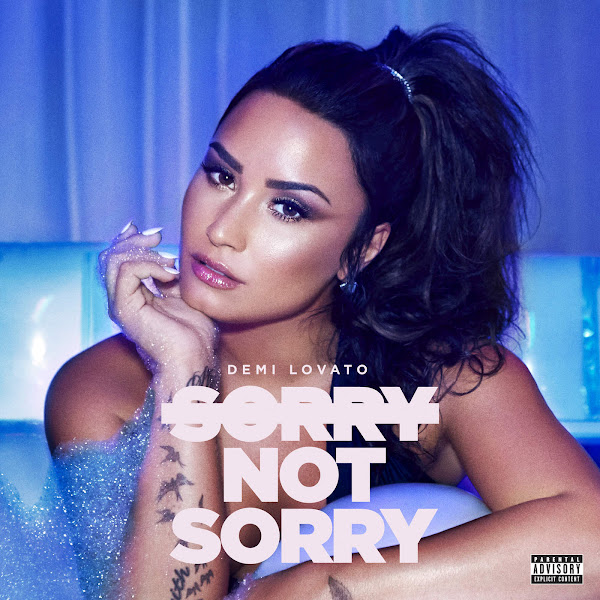Demi Lovato - Sorry Not Sorry - Single Cover