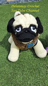 Amigurumi Crochet Yorkshire Terrier Dog Free Pattern - Amigurumi ... | 280x158