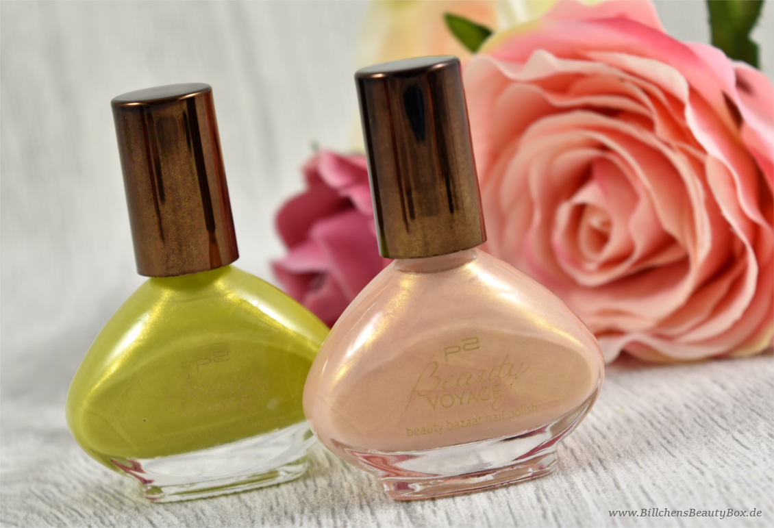 p2 cosmetics - Beauty VOYAGE Limited Edition - beauty bazaar nail polish - hot curry - curcuma dream