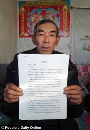 Un granjero estudia durante 16 años la ley por Justicia