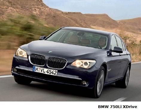 BMW 750Li XDrive test drive