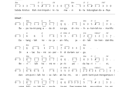 Partitur Lagu Rohani Kristen 4 Suara Belajar