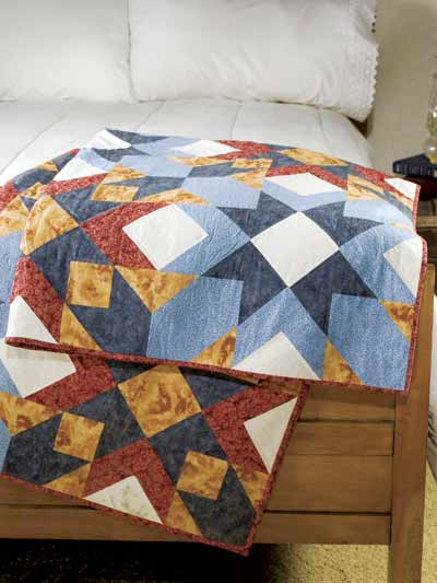 Filtered Sunlight Quilt Free Pattern