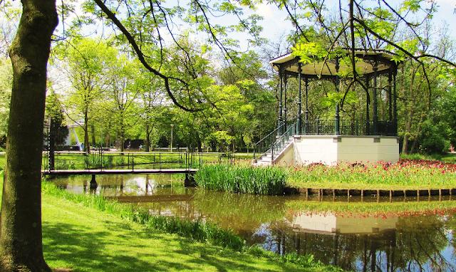 Parque Vondelpark em Amsterdã