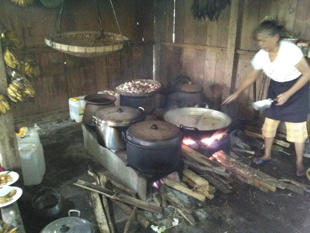 Dapur Warung Kopi Klotok Pakem