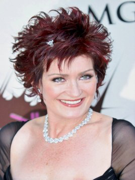 Us Winter Fashion Sharon Osbourne New Hairstyles 2012