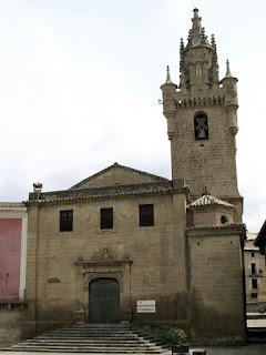 Iglesia de santa María la Mayor; Uncastillo; Cinco Villas; Aragón