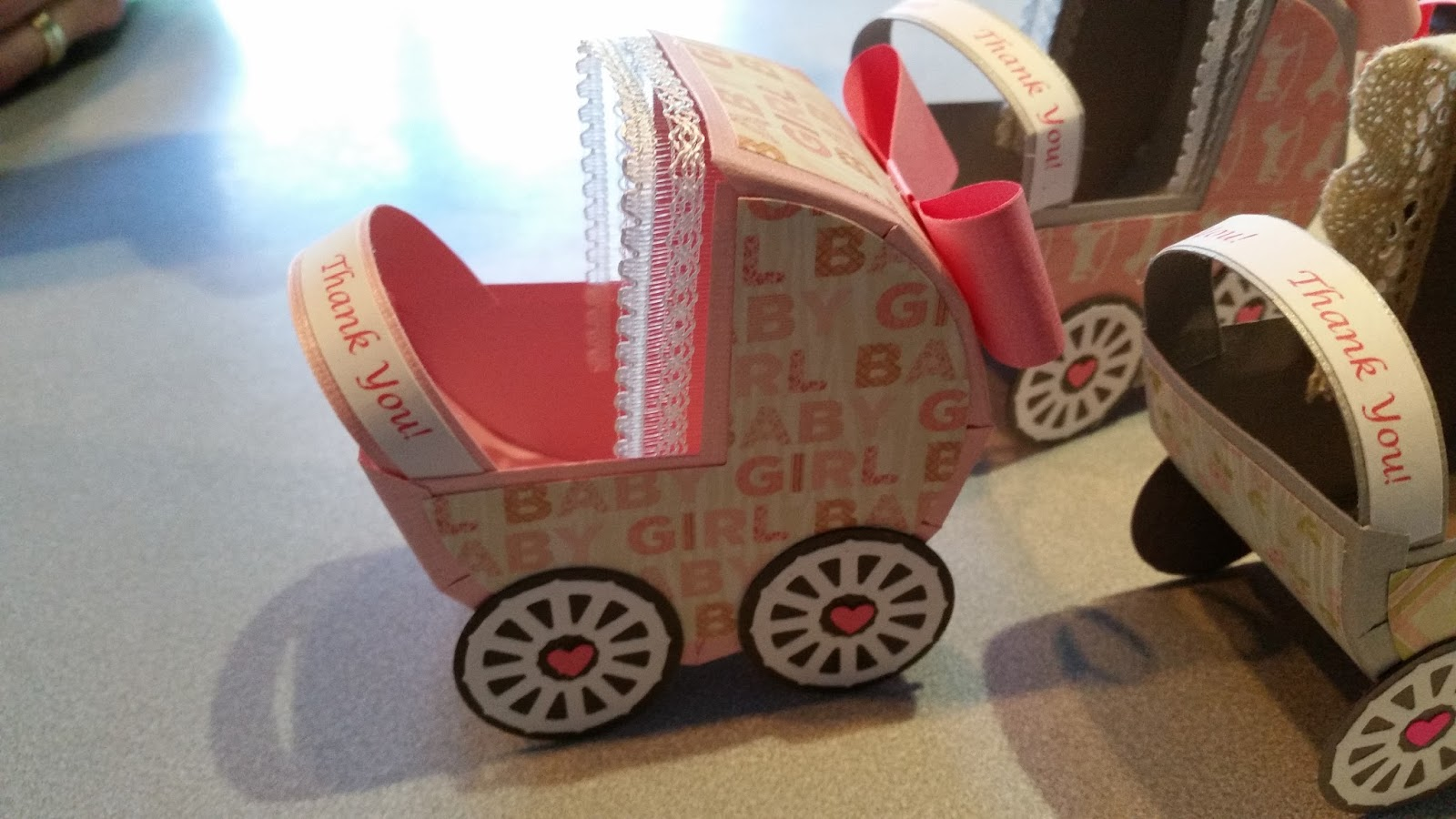 Contemporary Stroller Baby Shower Invitations Gift - Invitations and ...