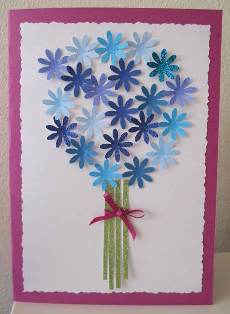 Ide membuat kerajinan kertas berbentuk bunga untuk anak-anak 2