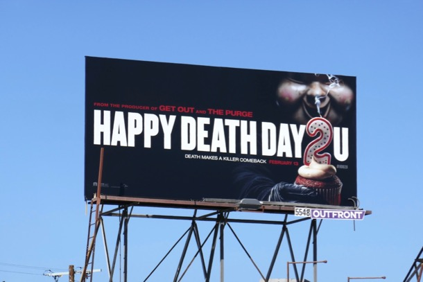 Happy Death Day 2U movie billboard