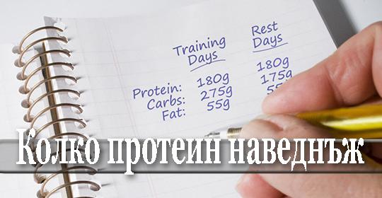 Какво количество протеин можем да усвоим при еднократен прием
