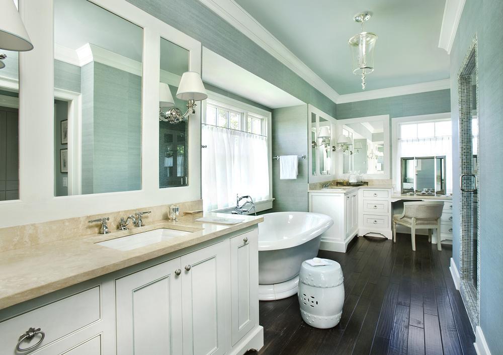 Beautiful Grey Master Bathrooms: The Granite Gurus: 8 Beautiful Master Bathrooms