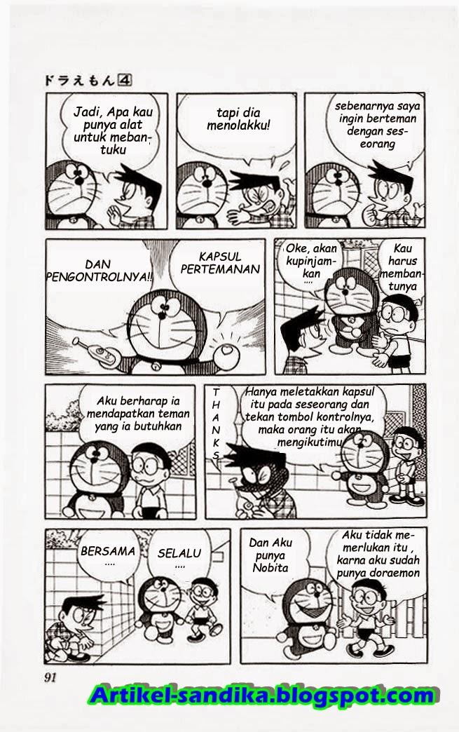 Komik Doraemon Bahasa Indonesia Kapsul Pertemanan Artikel Unik