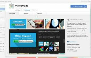 Ekstensi Untuk Mengembalikan Tombol View Image Di Google