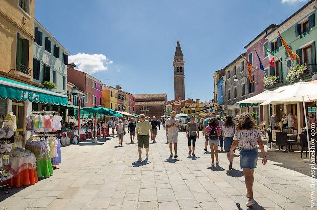 Burano viaje Italia organizar blog
