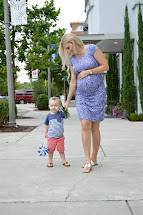 Carefree Blonde Diy Ruched Maternity Dress