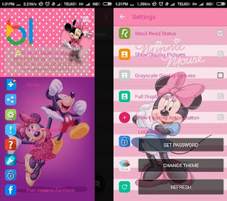 Download BBM MOD Mini Mouse - 1 v2.12.0.11